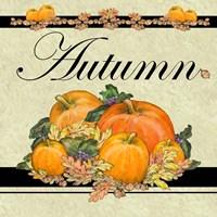 Autumn Pumpkins Fine Art Print