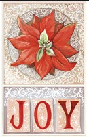 Poinsettia Joy Fine Art Print