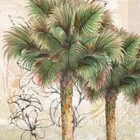 Palms Away I Fine Art Print