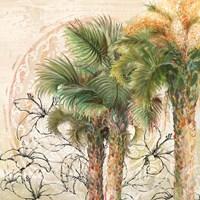 Palms Away II Fine Art Print