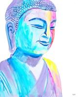 More Vibrant Buddha Fine Art Print