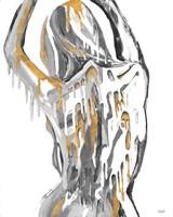 Golden Woman Fine Art Print