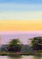 Glowing Sunset Fine Art Print