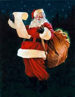 Jolly Old Saint Nick Fine Art Print