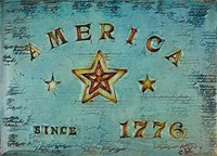America 1776 Fine Art Print
