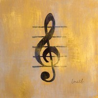 Treble Clef Fine Art Print