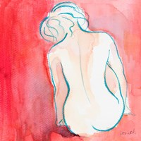 Female Watercolor Figure I Fine Art Print