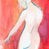 Female Watercolor Figure II Fine Art Print