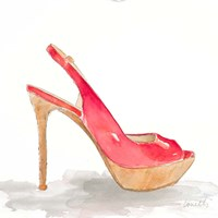 Pool Party Stiletto Fine Art Print