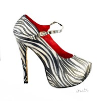 Animal Print Stiletto Fine Art Print