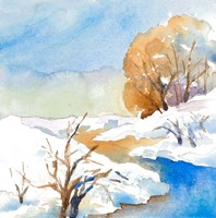 Snowy Serenity II Fine Art Print
