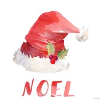 Holiday Hat Sentiment II Fine Art Print