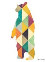 Uptown Bear Fine Art Print