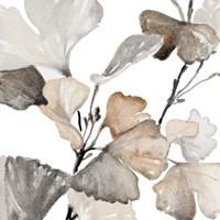 Neutral Ginko Stems II Fine Art Print