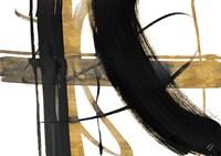 Urban Vibe with Gold I Fine Art Print