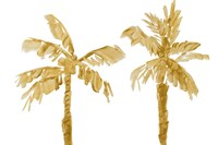 Gold Palms III Fine Art Print