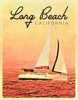 Long Beach, California Fine Art Print