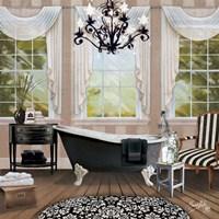Chandelier Bath I Fine Art Print