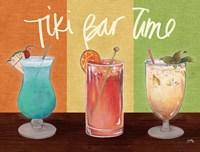 Tiki Bar Time Fine Art Print