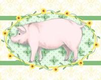 Piggy Wiggy I Fine Art Print