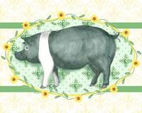 Piggy Wiggy II Fine Art Print