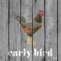 Early Bird Rooster Fine Art Print