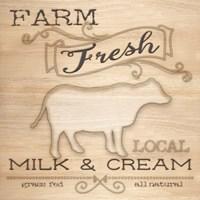 Country Organic Dairy I Fine Art Print
