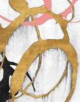 Rose Gold Strokes II Fine Art Print