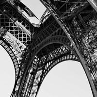 Eiffel Views Square II Fine Art Print