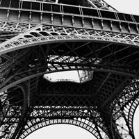 Eiffel Views Square III Fine Art Print
