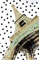 Eiffel Tower with Glitter Fine Art Print