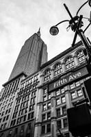 Down the Streets of New York Fine Art Print