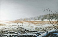 Snowy Morning Fine Art Print