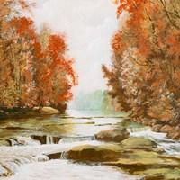 Autumn at Firemen's Park Fine Art Print
