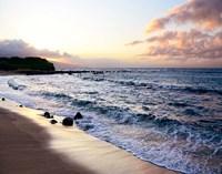 Sunset Beach Fine Art Print
