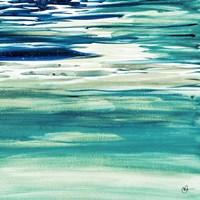 Blue Color Study II Fine Art Print