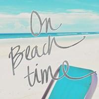 On Beach Time Fine Art Print