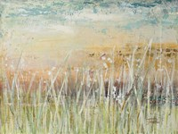 Muted Grass Framed Print