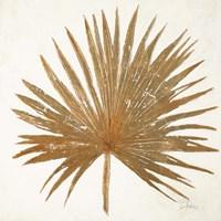 Golden Leaf Palm I Fine Art Print