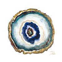 Agate Watercolor II Fine Art Print