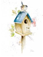 Bird House I Fine Art Print