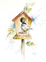 Bird House II Fine Art Print