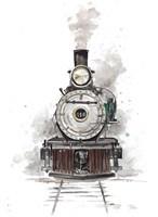 Antique Locomotive Fine Art Print