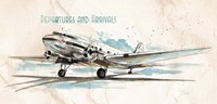 Departures & Arrivals Fine Art Print