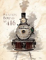 Station Bound No.416 Fine Art Print