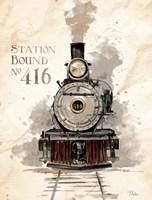 Station Bound No.416 Fine Art Print