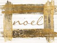 Gold Noel Fine Art Print