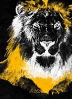 Stained Safari I Framed Print