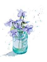 Fresh Little Flower II Framed Print