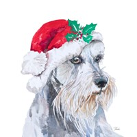 Holiday Dog IV Fine Art Print